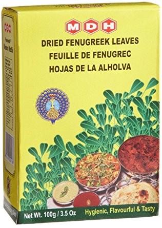 Kasoori Methi Leaves ( getrocknete Bockhornkleeblätter)
