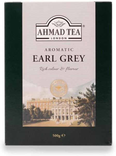 Ahmad - Earl Grey Tea - Loser Schwarztee, 500gr.