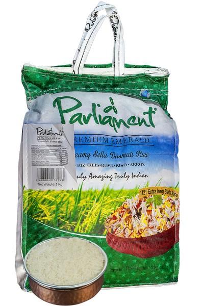 Parliament Basmati Reis - 10 Kg Neu & Absolut top Qualität