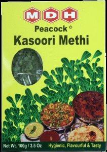 Getrocknete Bockshornblätter (Kasoori Methi)- 100gr