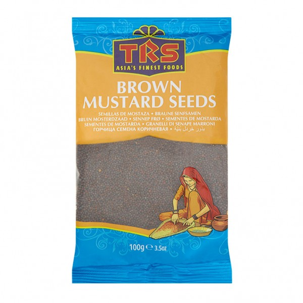 Brown Mustard Seeds 100g (Senfsamen)