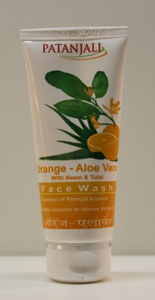 Orange-Aloe Vera Waschcreme