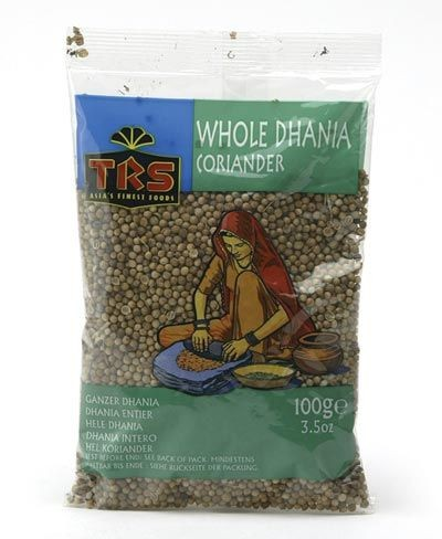 Dhania Whole 100g (Korinandersamen)