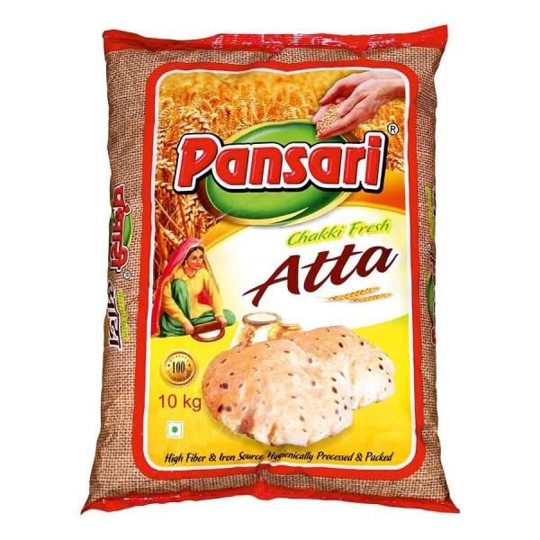 Pansari - Chakki Atta - Weizenmehl 10 Kg