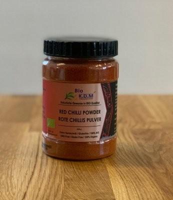 BIO Red Chilli Powder - Rote Chilli gemahlen100gr.