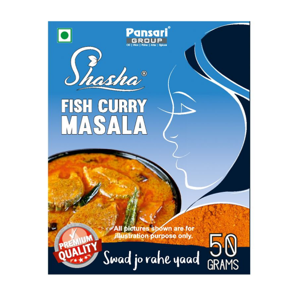 "Pansari ""Shasha"" - Fish Curry Masala 50gr."