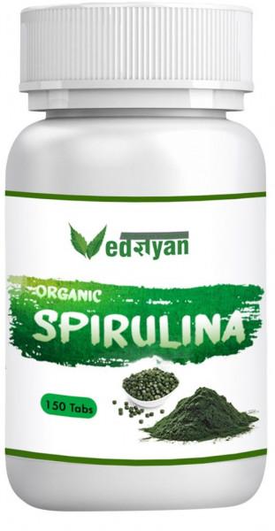 Vedgyan - Spirulina Tabletten 150 Stück (100% organisch)