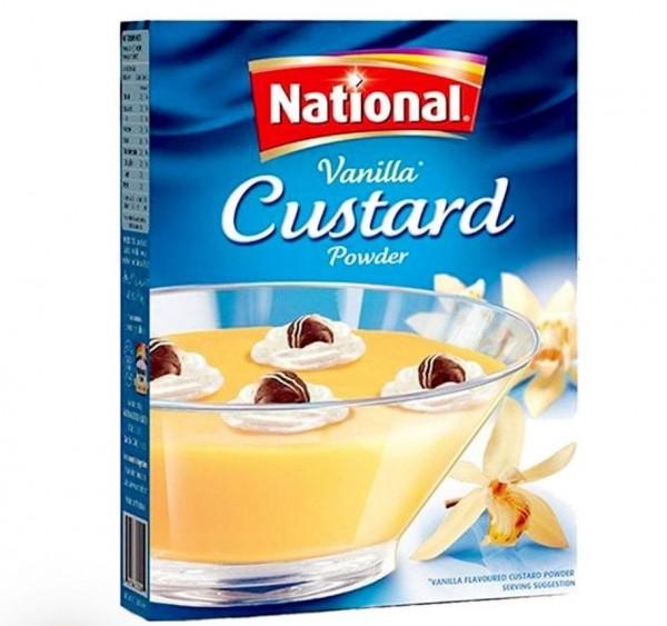 National - Vanilla Custard Powder - Vanillepuddingpulver - 300gr.