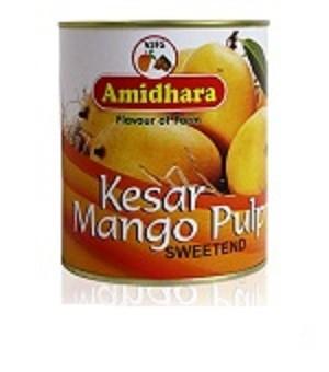 Amidhara - Kesar Mango Pulp/ Mango Fruchtfleisch/Mark - 850gr.