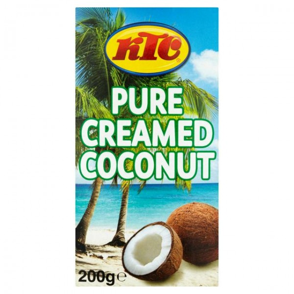 Pure Creamed Coconut - 200gr.