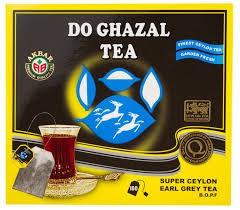 Do Gazhal - Earl Grey Schwarztee - 100 Teebeutel