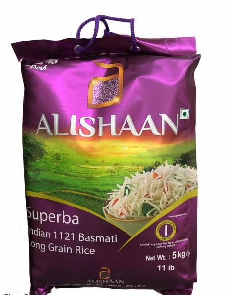 Alishaan - Basmati Long Grain Rice - 5kg