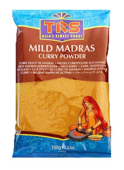 Currypulver aus Madras 100 g (mild)