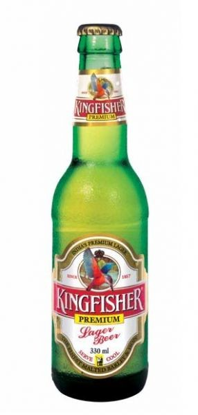 Kingfisher Premium Lager Bier 0,330ml - 4,8%