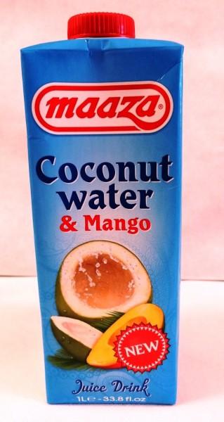 Maaza Coconut Water & Mango 1L