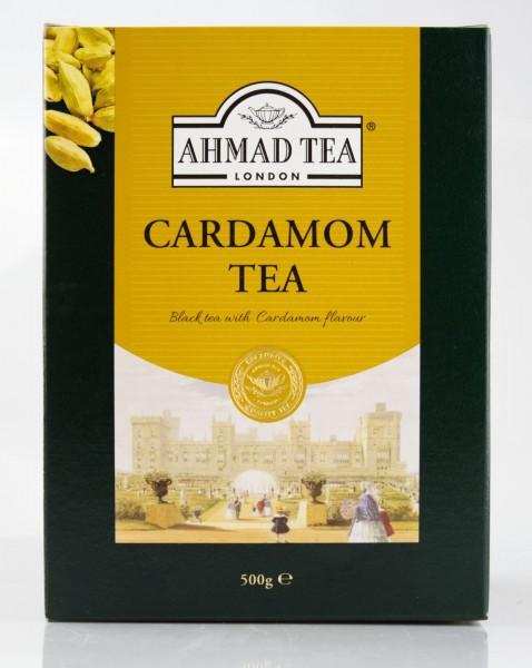 Ahmad - Cardamom Tea - Loser Schwarztee, mit Kardamomgeschmack, 500gr.